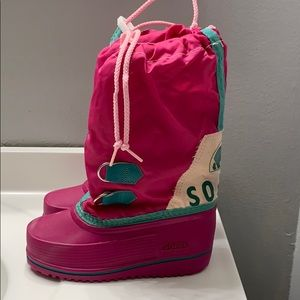Kids sorel boots